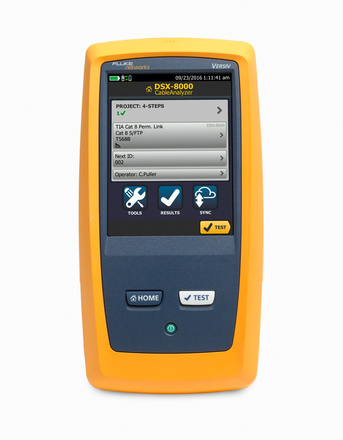 Fluke DSX 8000 CableAnalyzer Cable certifier for rent in ...
